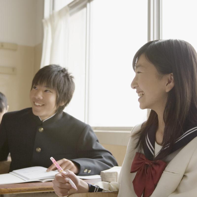 生徒が笑顔になれる授業時間