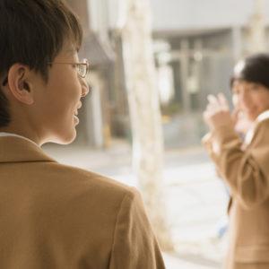 日常の中でも自らの将来を考え、どう行動するか決める男の子